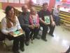 Pestro doploldne v 1.b razredu z babicami in dedki